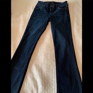 Boot cut women's jeans
